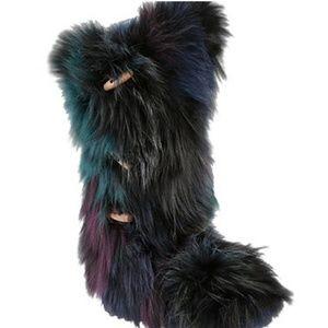 Yeti fur winter boots pajar insbrook